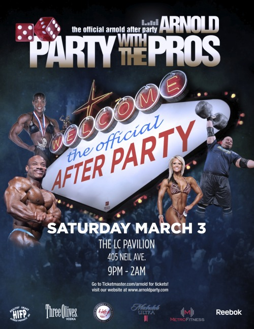 Join us for the Official After Party on March 3 at the LC Pavilion.