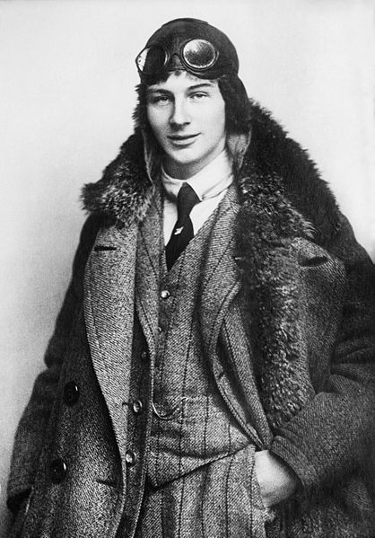 "From submitter hey-sugar-hey Anthony Fokker, age 22, 1912. My favorite WWI ace ""Knight of the Air"" and a freaking genius besides! He was dutch, the inventor of the Eindecker monoplane, the Fokker triplane and D.VII, developed the interrupter gear (HELLO major innovation used even today), and general hottie. Obviously, he is an ideal boyfriend."