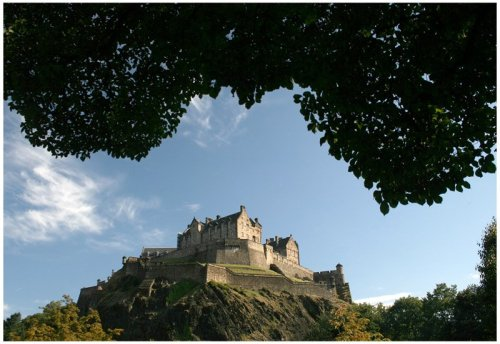 Edinburgh Castle Photo by Michal Lepecki