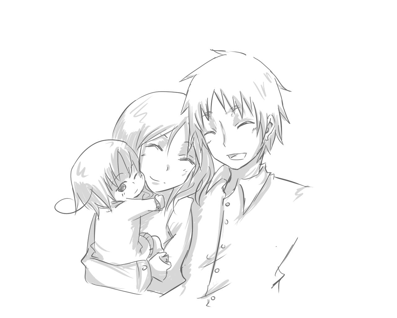 OTL Kinda failed… But I still tried! Arthur, Silvia and Romano for iranoutoftwizzlers