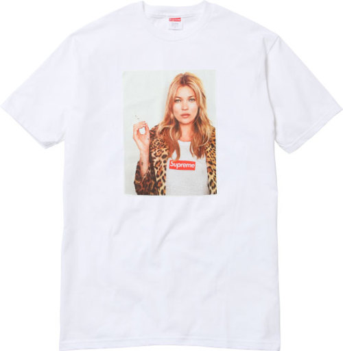 Supreme's Kate Moss tee, for Spring/Summer 2012