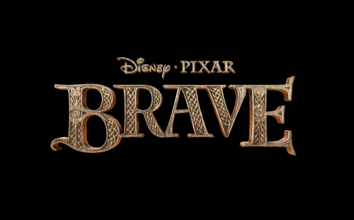 Can you spot Merida and Elinor in the Brave logo? Look again!