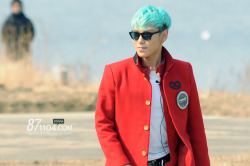 TOP filming Running Man yayness!