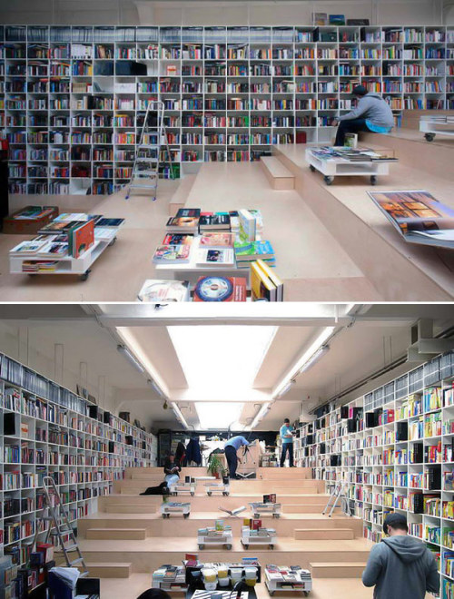 20 Most Beautiful Bookstores in the World (Sorry for redoing the post, I wanted to have the picture on the post)