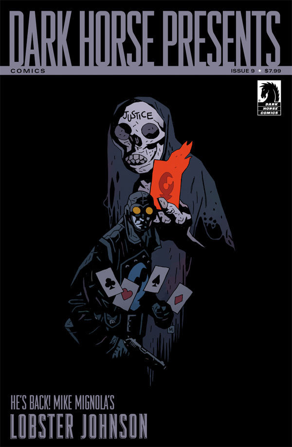 Lobster Johnson par Mike Mignola (trouvé sur Dave Johnson)