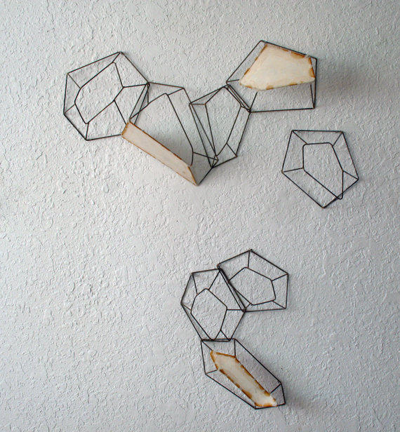 Mapping the Dispersal Wall Installation by sarahwest on Etsy