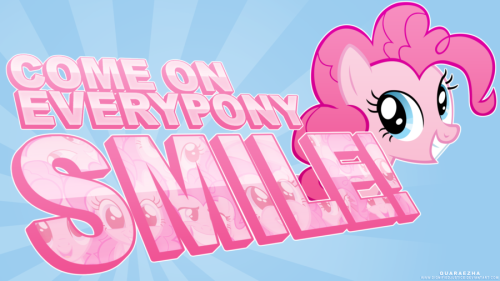 fisherpon:  Come On Everypony, Smile!