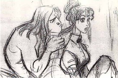 scurviesdisneyblog:  Tarzan And Jane By Glen Keane