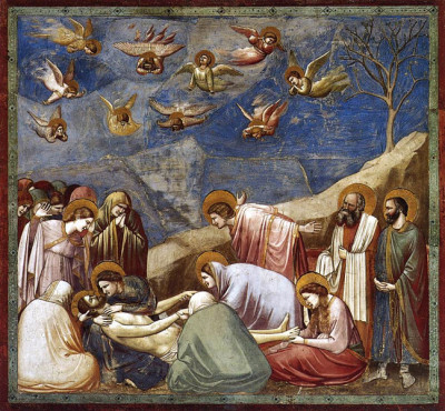 Giotto, Lamentation (c1303-05, Arena Chapel)