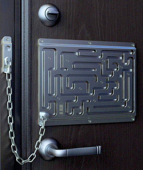 Labyrinth Security Lock