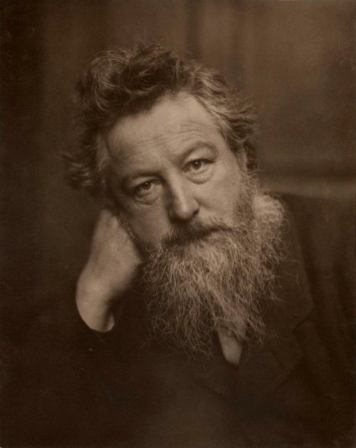 William Morris24 March 1834 – 3 October 1896British, Textile designer, Painter, Writer, Utopian socialist