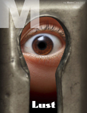 The July 2011 cover of the Manna.