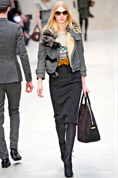 Burberry Prosum Fall RTW 2012 London Fashion Week