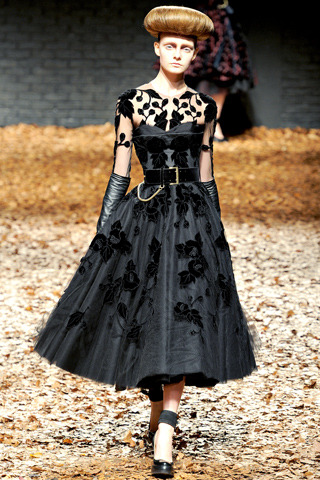 McQ (the diffusion line of Alexander McQueen) Fall RTW 2012 London Fashion Week