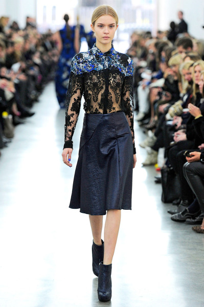 Erdem Fall RTW 2012 London Fashion Week