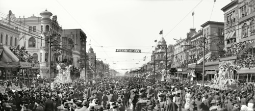 lostsplendor:  Mardi Gras, New Orleans c. 1907 (via Shorpy Historical Photo Archive)