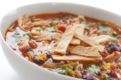 gastrogoodies:  Chicken Tortilla Soup