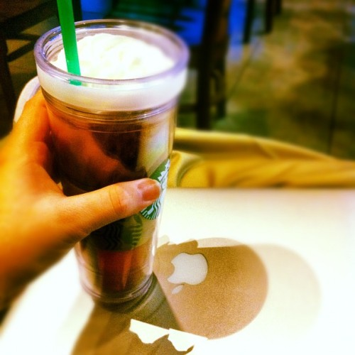 stand, Stand, STAND! (Taken with Instagram at Starbucks)