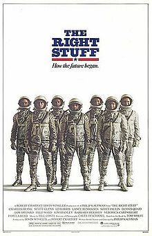 "The Right Stuff The Mercury 7 had it, and Ed Harris had it when he played John Glenn in the film ""The Right Stuff"" based on Tom Wolfe's book.  It's about the jump from Test Pilots who were breaking Mach 1 and 2 to the selection process and missions of Project Mercury.  It is an epic film, a real testament to the time of the Space Race and to the story of those brave and awesome men and their families."