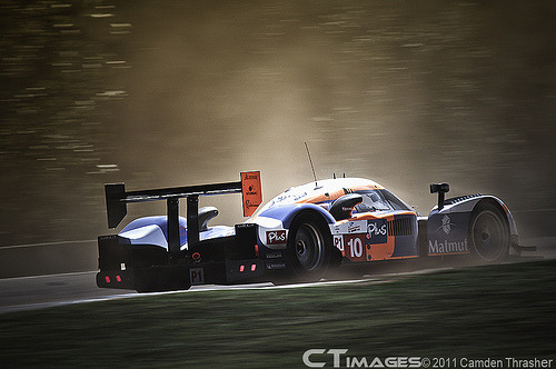 For the glory Starring: Peugeot 908 (by Camden Thrasher)