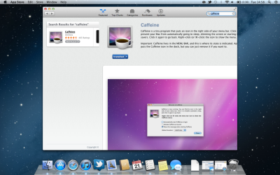The Appstore now supports Safari style back gestures in Mountain Lion, something I really missed in Lion.