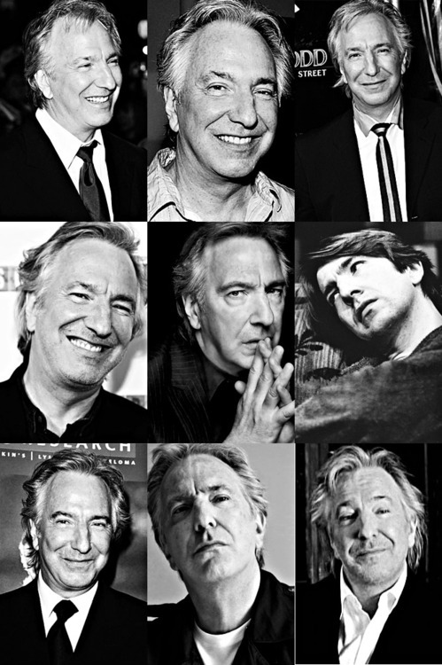 Happy birthday to the sexiest man alive. Happy Birthday, Alan Rickman. :) x