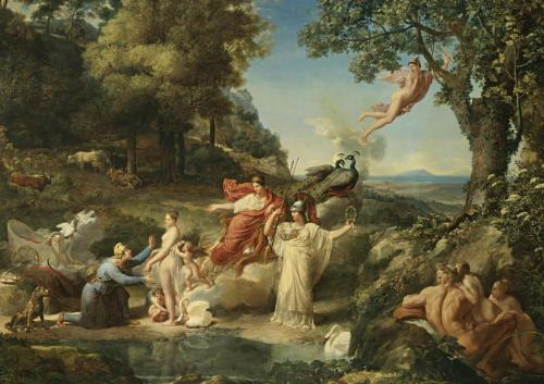 necspenecmetu:  Guillaume Guillon-Lethiere, The Judgement of Paris, 1812
