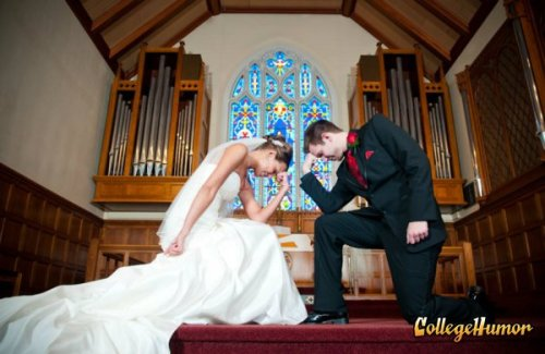 Wedding Tebow So much for the sanctity of memes.