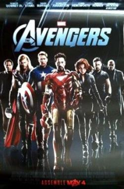 New (Low-Res) Poster for The Avengers!