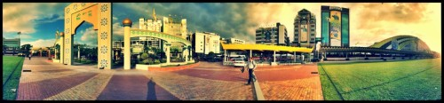 Ready for the 28th celebration. #LoveBrunei28th. Snapped with 360 app for Android. Edited with PicSay Pro. Click on image for a bigger version.