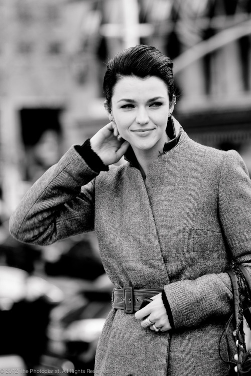 Ruby Rose Langenheim, Australian Model and MTV VJ, New York Fashion Week A/W 2012
