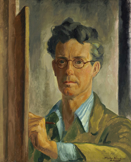 John Sloan, Self-Portrait