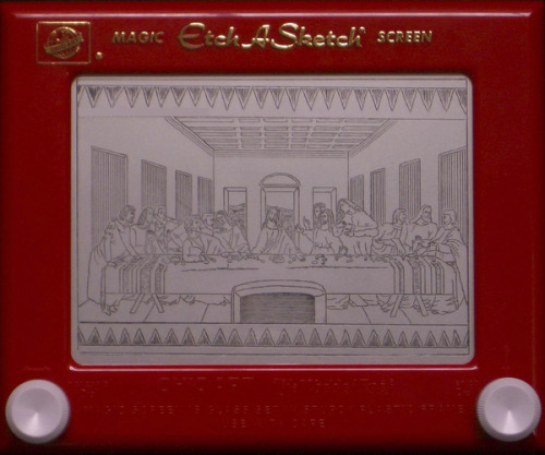 behancenetwork:  The Etch a Sketch Collection Via Behance.net