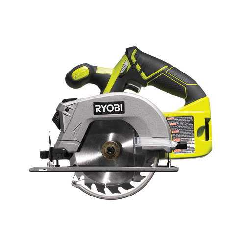 This hardworking circular saw is one-third of the three-piece Ryobi One+ 18-volt Lithium-Ion Combo Kit, which offers all the power you'll need for most home jobs, be it hanging a pantry shelf or building a set of stairs. The saw's battery recharges in less than an hour, and can be added to any of Ryobi's other lithium-ion instruments (if you need to add to your arsenal).