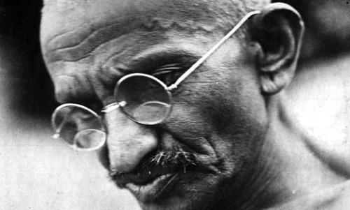 "cancerninja:  In October of 1947, Mohandas Gandhi gave a piece of paper to his visiting grandson, Arun Gandhi, upon which was written the following list — a list he said contained ""the seven blunders that human society commits, and that cause all the violence."" The next day, Arun returned home to South Africa, never to see his grandfather again. Gandhi was assassinated three months later.Note: The same list was originally published by Gandhi in his journal, Young India, in 1925. It was titled, ""Seven Social Sins."" Wealth without work.Pleasure without conscience.Knowledge without character.Commerce without morality.Science without humanity.Worship without sacrifice.Politics without principles.  (Source: Collected Works of Mahatma Gandhi, & Marriott; Image: Gandhi, via Wikimedia.)"
