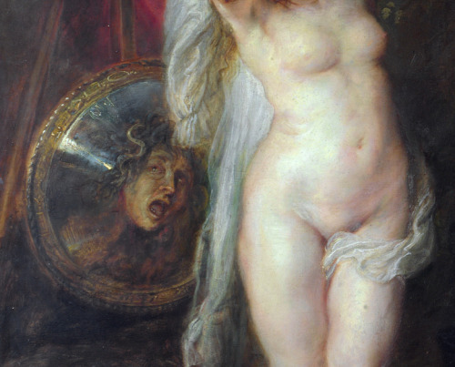 Peter Paul Rubens, The Judgement of Paris (detail), c. 1632-35.