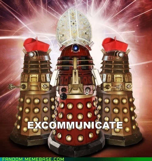 nobody expects a dalek-quisition!