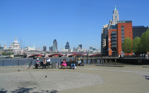 Oxo Tower Wharf, Observation Platform, View