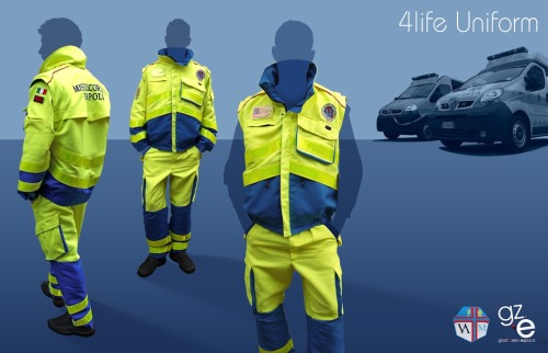 4Life Uniform designed for maximum safety 4Life Uniform progettata per la massima sicurezza