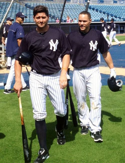 The Boys of Spring, Francisco Cervelli and Russell Martin
