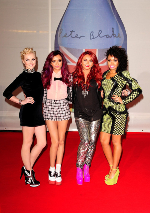 ohmyjadethirlwall:  Little Mix Arrive At The BRIT Awards