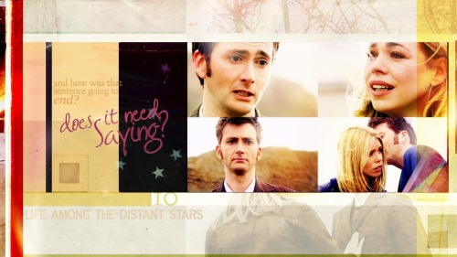 tensoncomingstorm:  Ten/Rose <3 The Oncoming Storm and The Bad Wolf </3