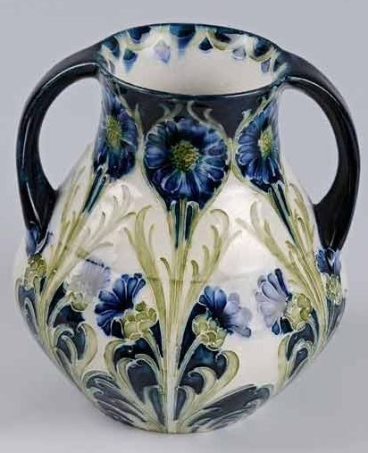 Moorcroft Vase This  vase by William Moorcroft was produced c.1902.