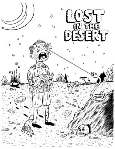 Lost in Desert - if you want to see more posts like this, click here…