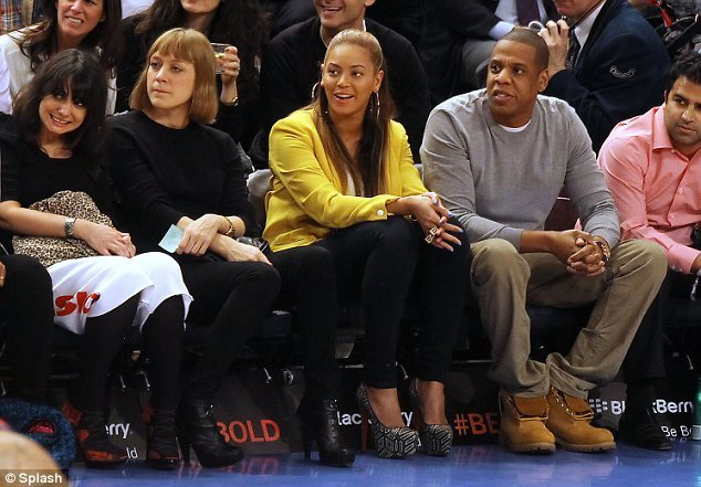 Chloe excluded, look at these Nets fans at a Knicks game.