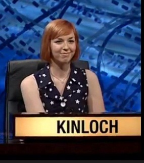 Emma Kinloch from Balloch, studying British Politics.