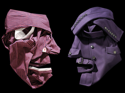 clothing origami sculptures Bela Borsodi