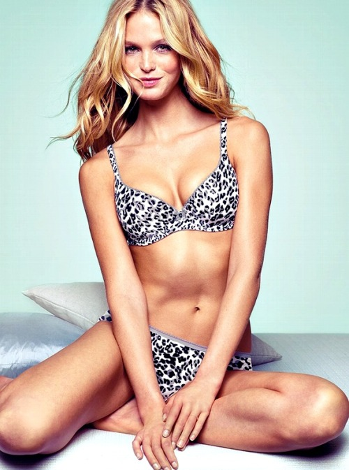 Erin Heatherton Victoria's Secret Lingerie 2012 collection