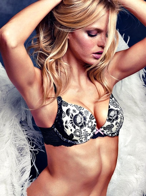 Erin Heatherton . 3 Victoria's Secret Lingerie 2012 collection