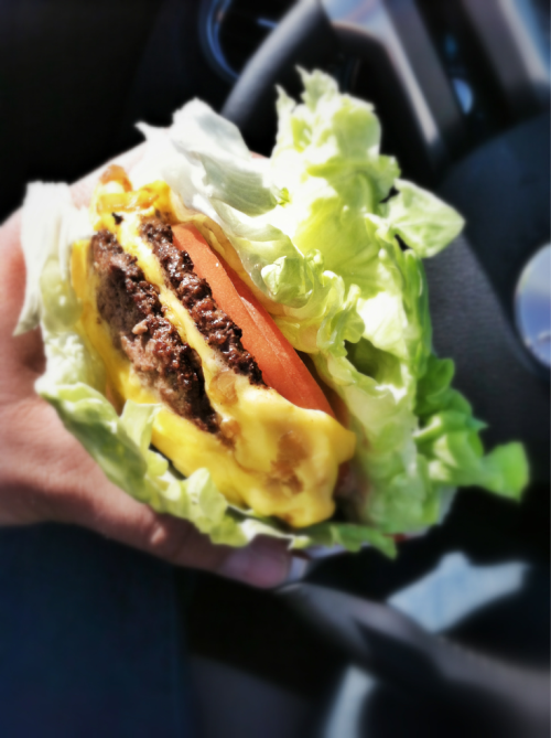 I learned how to order right. Protein double double, animal style & grilled onions.
